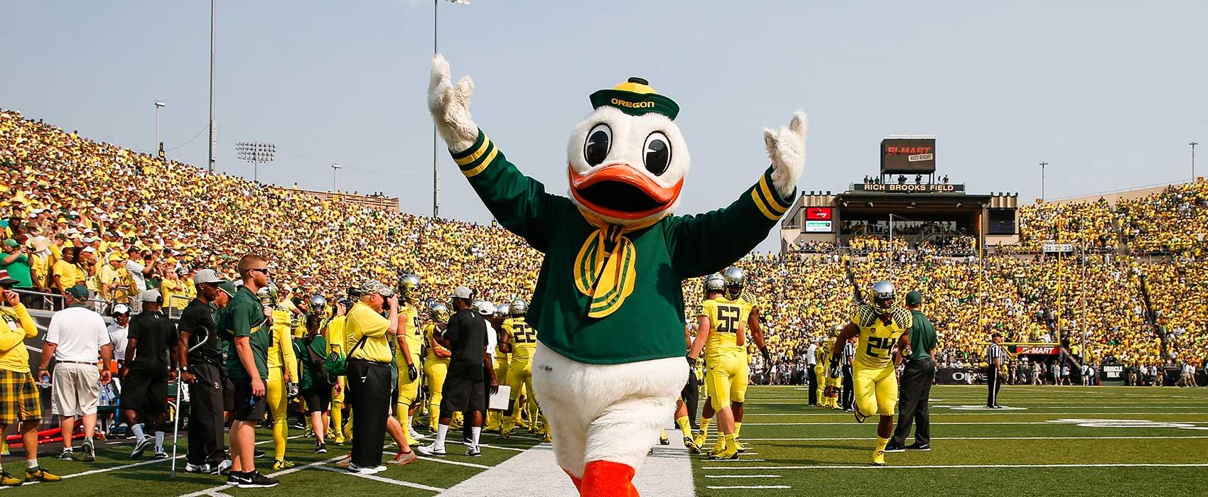 the duck - university of oregon athletics