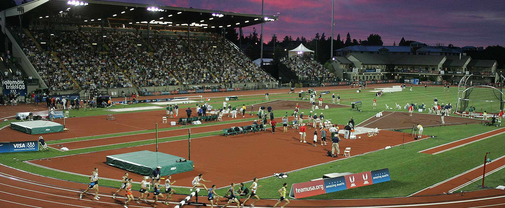 U Of Oregon Map.Hayward Field University Of Oregon Athletics
