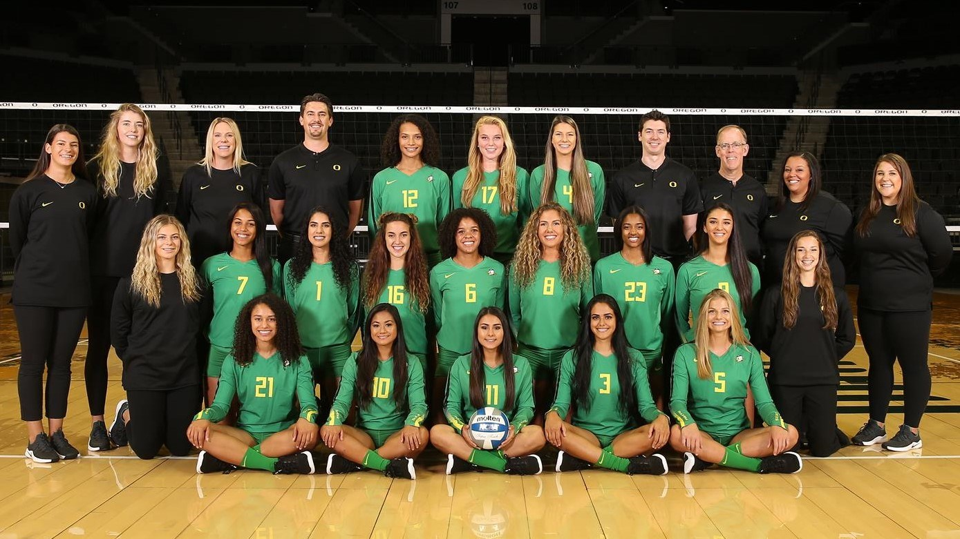 2018 Women S Volleyball Roster University Of Oregon Athletics